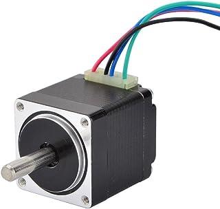 STEPPERONLINE Mini Stepper Motor Nema11 Bipolar 0.67A 8.5oz-in/6Ncm DIY Robot CNC (No Single keyed shaft)