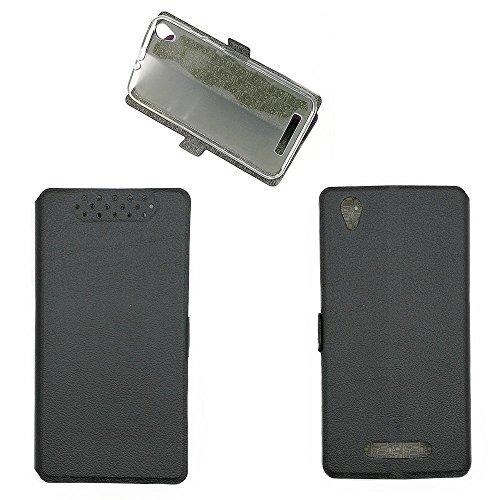 QiongniAN Hülle für Acer Liquid Z630 T03 Hülle Schutzhülle Hülle Cover Black