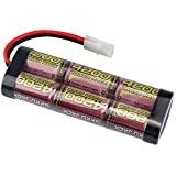 MELASTA 7.2V 4200mAh NiMH Batterie High Power Packs décharge Continue Taux 10C avec connecteur Tamiya pour RC Racing Cars