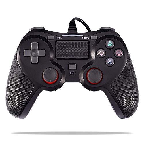C-FUNN Controlador De Juego De Vibración por Cable 1.5 M USB Ps4 Gamepad para Playstation 4 Ps4 Slim Ps4 Pro Playstation 3 Consola De Juegos