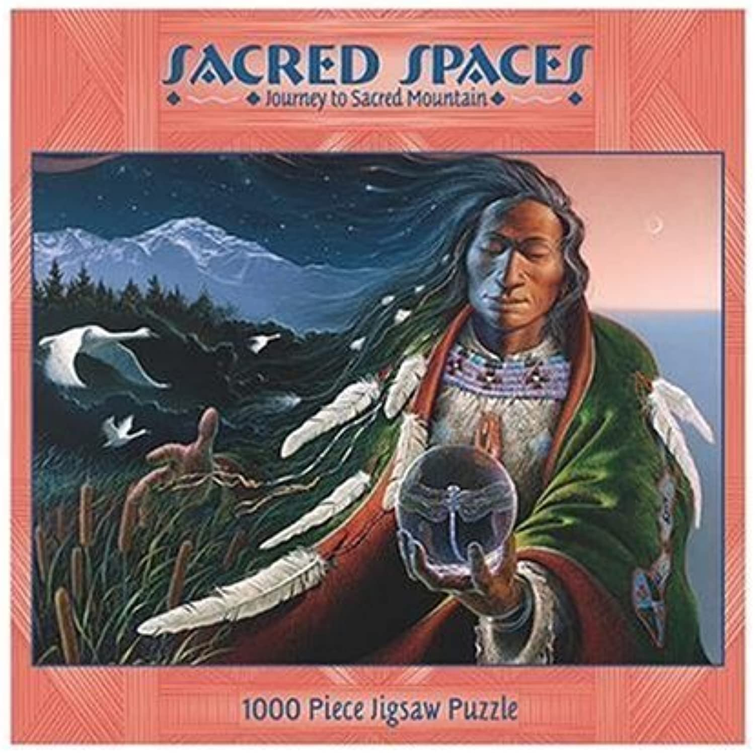 Sacred Spaces 1000Piece Puzzle  Journey To Sacred Mountain by Ceaco