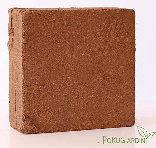 Pokugiardini, Substrato in fibra di cocco, blocco 5 kg= 70 litri espanso, miglior prezzo
