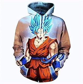 DRAGON BALL anime Son Goku printing fashion cotton hoodie round collar full sleeves casual sweatshirt sport hoodie