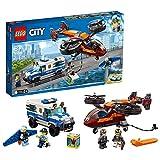 LEGO City - Police Policía Aérea: Robo del Diamante, juguete...