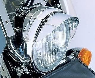 i5 Chrome 7-inch Headlight Visor for Honda Kawasaki Suzuki Yamaha