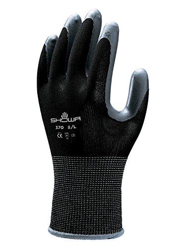 Spear & Jackson Kew Gardens Collection 370M1KEW Multi-Purpose Gardening Gloves, Black - Medium
