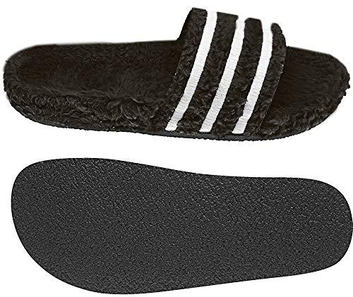 Adidas Adilette W, Damen Dusch- & Badeschuhe,Schwarz (Negbás / Blatiz / Negbás 000), 38 EU