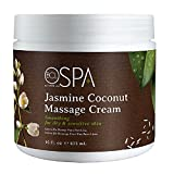BCL SPA Massage Cream, Jasmine Coconut, 16 Fl Oz