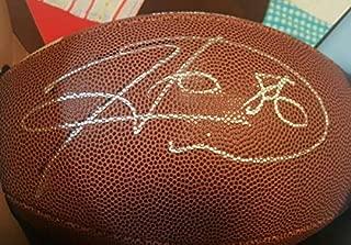 Authentic Autographed Signed Memorabilia Georgia Steelers Hines Ward Official NCAA Football JSA COA