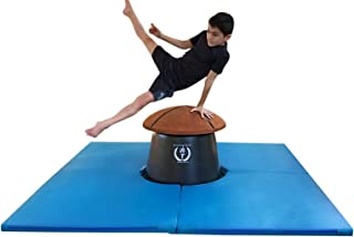 Olympia Pommel Trainers Boys Gymnastics Mushroom Mat - 6' by 6' - Blue - Club and Home Use - Pommel Horse Training Pod Mat - Compatible with All Pommel Trainer Mushrooms