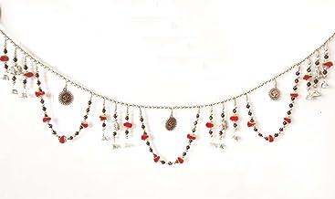 Decorative Colourful Golden Beads Bandhanwar