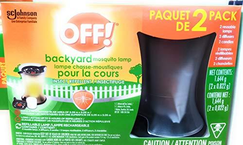 OFF! Backyard Mosquito Lamp 2-Pack