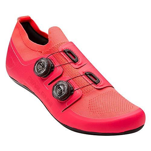 PEARL IZUMI PRO Road v5 - Scarpa da ciclismo, colore: Rosso atomico, 40.0