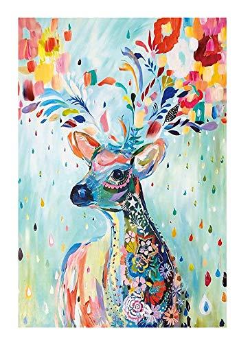 regalo de Navidad de cumplea/ños Jigsaw Puzzle 300//500//1000//1500//2000//3000//5000//5700 Piezas for Ni/ños Ni/ña de adultos juguete de descompresi/ón Horizontal Edici/ón ciervos