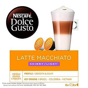 80 x Nescafé Dolce Gusto Latte Macchiato Light, Cápsulas de ...