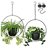 2 Pack Eco Joy Boho Metal Hanging...