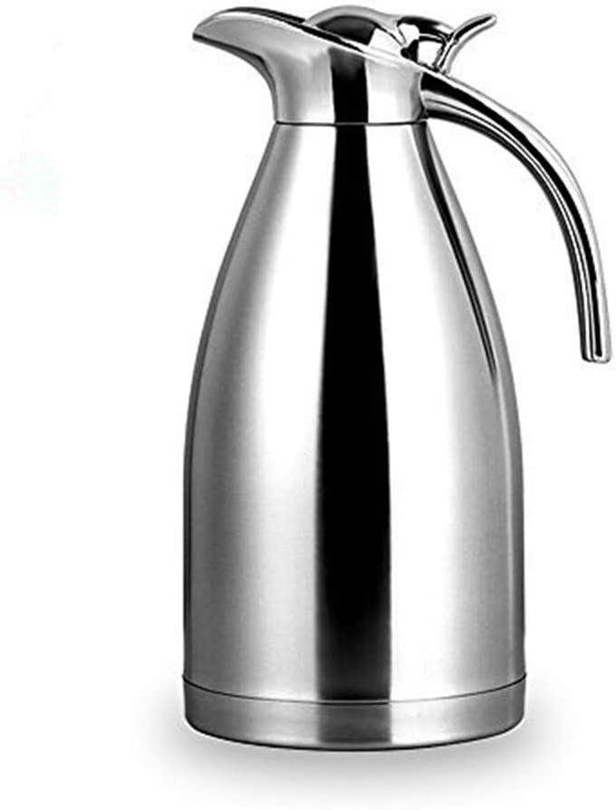 Bonnoces 64 Oz discount Stainless Selling rankings Steel Thermal - Walled Double Carafe Va