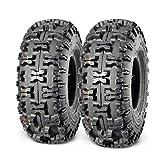 Set of 2 MaxAuto 4.10-4 Tires 410-4 Go Cart Tire...