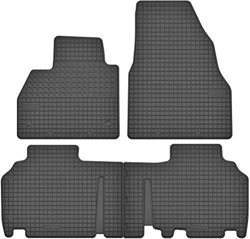Motohobby Gummimatten Gummi Fußmatten Satz für Mercedes-Benz Citan W415 (ab 2012) / Renault Kangoo II (ab 2008) - Passgenau