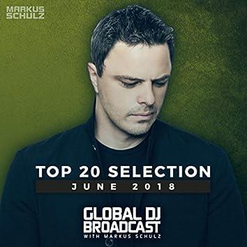 Global DJ Broadcast - Top 20 June 2018