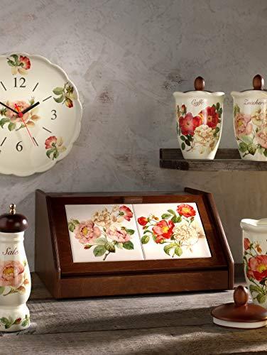 Unisex Nostalgischer Brotkasten 'Orto d´Autunno' Nuova Ceramica Artisan