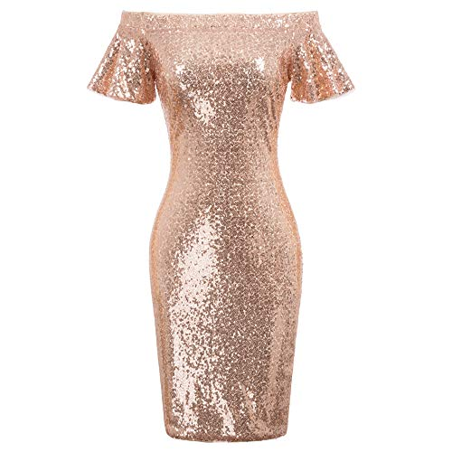 GRACE KARIN Damen Kurzarm Elegant Etuikleid Bodycon Bleistiftkleid Cocktailkleid Hips-Wrapped Pencil Kleid
