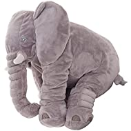 1. Be creative : This elephant teddy soft toy is suitable from birth. Help children develop fine motor skills, hand-eye coordination, and creativity, and entertain them for hours. 2.Soft touch: The outer layer of plush material and the inner layer of...