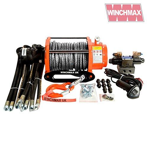 Winchmax Hydraulische Winde, 6,800 kg, Originalteil, Orange