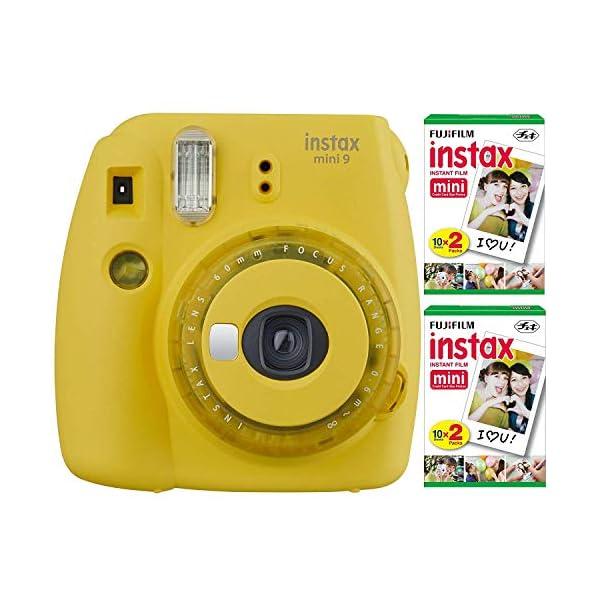 Fujifilm Instax Mini 9 Instant Camera INSTAX Mini 40 Sheets of Instant Film