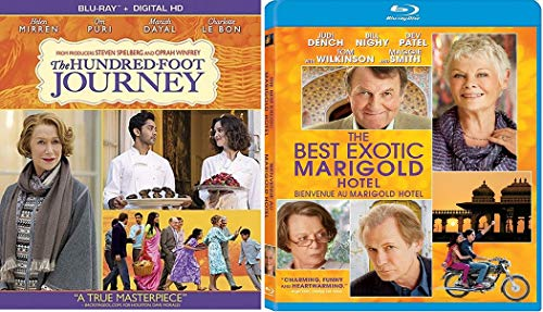 Hundred Foot Journey / Best Exotic Marigold Hotel Blu Ray Set