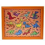 Lesser & Pavey LP42724A Knietablett Dinosaurier Holz