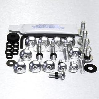 Kit visserie car/Ã/©nage en aluminium Z1000 07-09 Noir