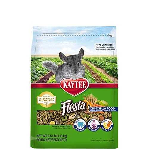 Kaytee Fiesta Chinchilla Food 2.5 pound bag