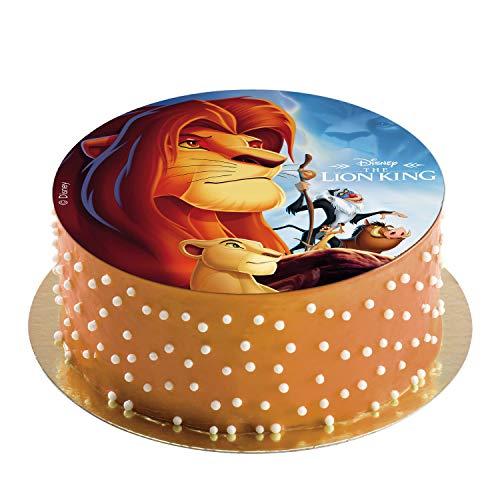 Cialda in pasta di Zucchero per torte Il Re Leone Ø 20 cm