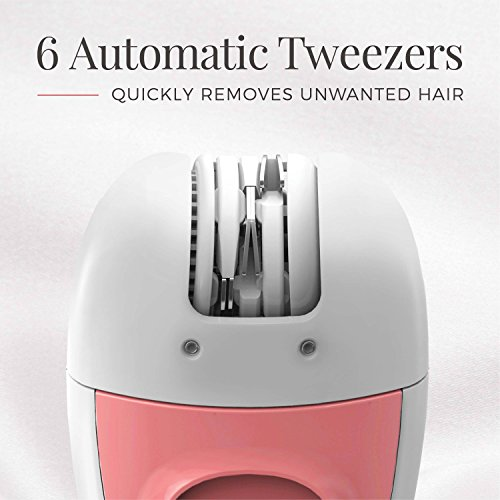 Remington EP1050 Smooth and Silky Battery Operated Facial Tweezer System