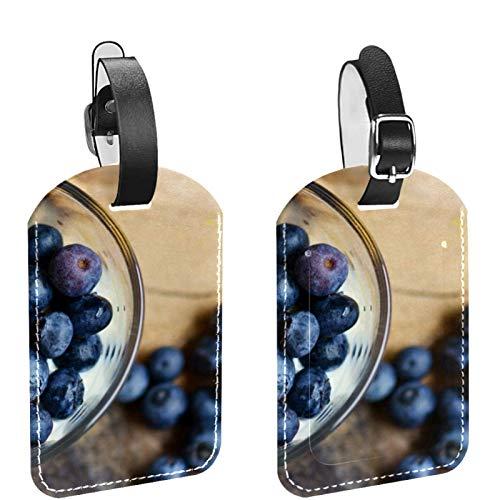 AITAI Blueberry and Daisy Lot de 2 étiquettes de...