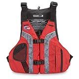 MTI Adventurewear Solaris PFD Life Jacket, Red/Gray, XX-Large/3X-Large
