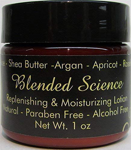Natural Vegan Face Cream Argan Oil Replenishing & Moisturizing Lotion Daily Use Sensitive Skin No Parabens No Alcohol No Harsh Chemical Cruelty Free (1.0 oz)