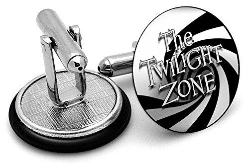 Twilight Zone boutons de manchette, anniversaires, wedding. Unisexe