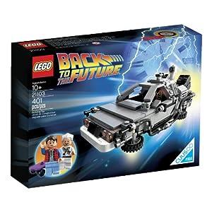© 2013 The LEGO Group / Amazon.co.jp - レゴ クーソー デロリアン・タイムマシン 21103