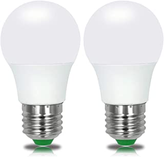 E26 LED Light Bulbs 3W 12V Low Voltage Warm White 3000K E27 Edison Standard Screw Base 25W Equivalent for Rv, Off Grid Solar Panel Project, Boat, Pack of 2
