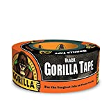 Gorilla 6001203 6001203-10 Duct Tape, 1.88' x 12 yd, Black, (Pack of 1), 1-Pack