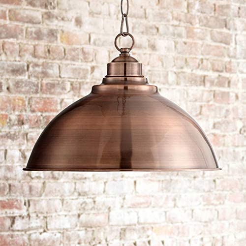 Southton Copper Dome Pendant Light 13 1 4 Wide Modern Industrial Rustic Fixture for Kitchen product image