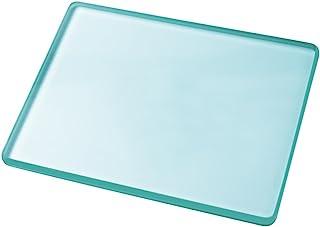 磨き板 ガラス板 レザークラフトHUACAM 8mm厚 革工具 革削ぎ 革床面磨き用工具 磨きガラス板 厚ガラス板 130 * 100 * 8mm HCM17