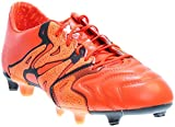 adidas Mens X 15.1 Leather FG/AG Firm Ground/Artificial Grass Soccer Cleats 11 1/2 US, Bold...