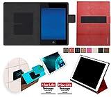 Hülle für Hewlett Packard Pro Slate 8 Tasche Cover Hülle Bumper | in Rot Leder | Testsieger