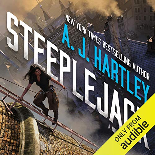 Steeplejack audiobook cover art