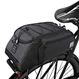 COTEetCI Mountain Bike Rack Trunk Bag 8L Bicycle Rear Rack Bag Bike Cargo Bag Cycling Luggage Bag Outdoor Shoulder Bag