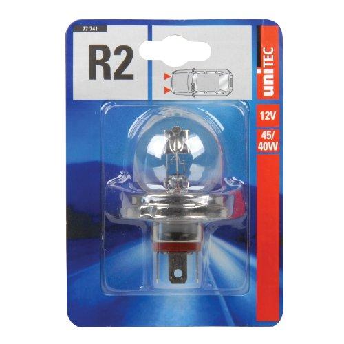 Unitec Standard Halogenlampe R2 12 V 12 V 1 St. P45t