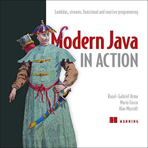 Modern Java in Action Titelbild